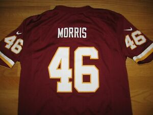 WASHINGTON REDSKINS ALFRED MORRIS #46 NEW JERSEY BY NFL ON FIELD NIKE BOYS LARGE