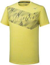 Mizuno Impulse Core Short Sleeve Mens Running Top - Yellow