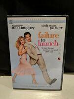 BRAND NEW FAILURE TO LAUNCH DVD SEALED MATTHEW MCCONAUGHEY SARAH JESSICA PARKER