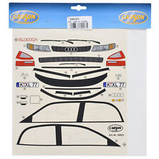 Decal Sheets 1:10 AUDI A3 1.6 Sticker Carson 69023 800004