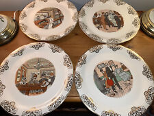 More details for crown ducal 4x plates the singing waiter, whats yourn gents, harmony, hoss an ho