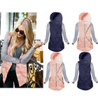 Women Warm Hooded Thin Slim Down Coat Cotton Padded Jacket Winter Overcoat Parka