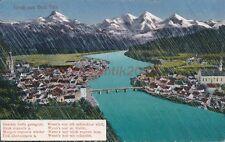 AK, Grafik, Gruß aus Bad Tolz - mit Spruch, 1920; 5026-35