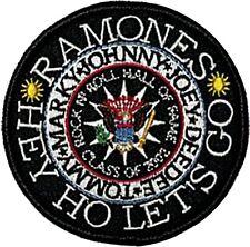 Ramones Hey Ho Round à Coudre Lingette Brassage ( Mm)