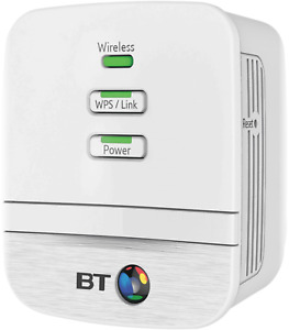 BT Mini Wi-Fi Home Hotspot 600 Add-on powerline adapter 2 ports and WiFi