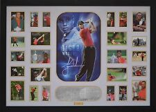Tiger Woods Signed Framed Limited Edition Memorabilia Large *Stock Clearance*