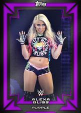 Topps SLAM WWE Alexa Bliss PURPLE Limited Time 2018 Base Variant [DIGITAL CARD]