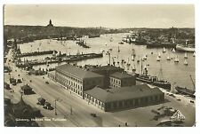 Gothenburg, Harbour & Customs House RP PPC Highly Detailed RP c 1936
