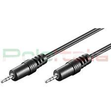 Cavo audio JACK 2,5mm Aux adattatore per pc cuffie mp3 foto camera video camera