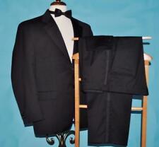 Ralph Lauren Canada 40 S black 100% wool gentlemans tuxedo dinner suit (a#w8j5