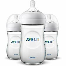 Philips AVENT 3x260ml Babyflasche Naturnah SCF033/37 Flaschen-Set Natural NEU