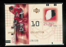 2001-02 UPPER DECK UD MASK COLLECTION JERSEYS TONY AMONTE JERSEY 120/150
