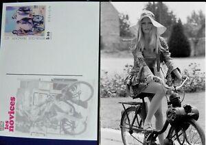 Brigitte Bardot POSTCARD SOLEX VELOSOLEX LES NOVICES  carte neuve
