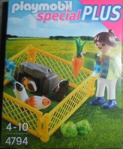 Playmobil Special Plus   Mädchen mit Meerschweinchen   Set 4794 neu & OVP