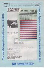Late Amtrak Diesels. Red & Blue Stripe N Scale 60-191