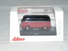 Schuco 26337 VW T1c Bus, schwarz-rot 1:87 NEU + OVP