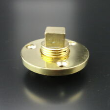 Boat Garboard Drain Plug Cast Bronze Fits 1 Inch Diameter Hole 1/2''NPT Trendy