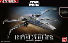 X-Wing Star Fighter Star Wars The Force Awakens Scale 1/72 Model Bandai Japan