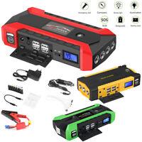Car Jump Starter Power De Batería Portátil Banco de refuerzo de emergencia 12V
