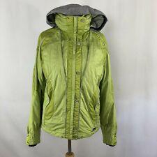 Killy AWT 8 Ski Jacket Snowboard Coat Green Silver Zip Up Zipper Front Womens