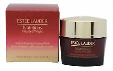 Estee Lauder NUTRITIOUS VITALITY8 NIGHT RADIANT OVERNIGHT CREME/MASK 50ML NEW!