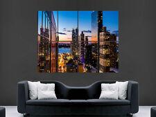 New York Manhatten rascacielos de pared gigante de arte cartel impresión de foto Grande