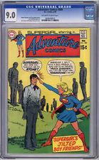 Adventure #389 CGC VF/NM 9.0 Monterey Supergirl
