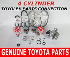 TOYOTA TIMING BELT KIT WATER PUMP  2.2 OEM FACTORY GENUINE PARTS- 95 Camry NAP