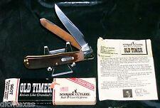 Schrade 96OT Knife Trapper Field Pick & Tweezers Original Box & Paperwork Rare