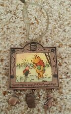 Winnie The Pooh and Piglet Christmas Ornament 2004 In Spanish Espanol