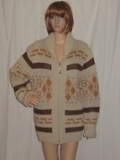Vintage Pendleton Cowichan Sweater 1970s The Dude Hippie Big Lebowski  Medium
