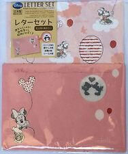 New Disney Micky &  Minnie Mouse Letter Writing Set Made in Japan Stationery F/S