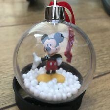 Disney Mickey Mouse Snowy Bauble Christmas Tree Decoration