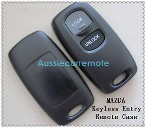 Mazda 2 3 6 323 626 2 Button Remote Control Case Shell Fob For Mazda 2 3 6 323