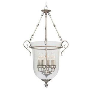 Livex Lighting Legacy Chain Hang in Brushed Nickel - 5023-91