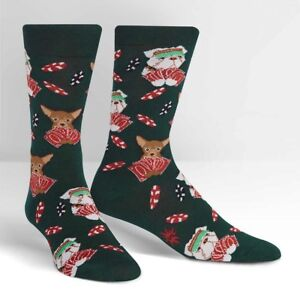 Sock It To Me Men's Crew Socks - Ruff Bluff (UK 6-12)