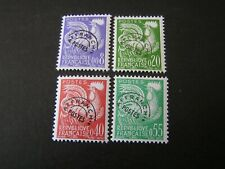 FRANCE, SCOTT # 952-955(4), COMPLETE SET 1960 GALLIC COCK ISSUE MVLH