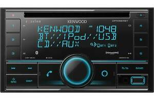 Kenwood Excelon DPX594BT 2-DIN Bluetooth Car Stereo CD Receiver with USB Aux