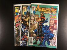Avengers Two: Wonder Man and Beast 1 2 3 2000 Marvel Stern Bagley Adams G8