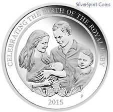 2015 PRINCESS CHARLOTTE Silver 1oz Proof Coin