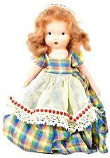 Very cute! Rare Vintage Nancy Ann Story Book doll Bisque doll circa 1940s Fab