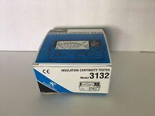 Kyoritsu Electrical Instruments - Insulation - Continuity Tester 3132 w/ manual