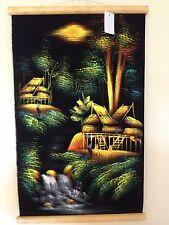 Peinture Toile Peinte main Paysage Asie Chine Inde Thaïlande Cambodge Vietnam