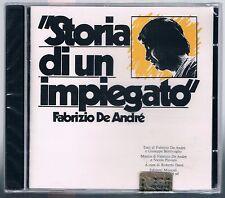 FABRIZIO DE ANDRE' STORIA DI UN IMPIEGATO CD CDMRL 6497 F.C. SIGILLATO!!!