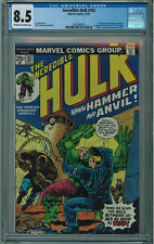 INCREDIBLE HULK #182 CGC 8.5 3RD APP OF WOLVERINE IN CAMEO OW/W PGS 1974