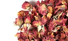 DRIED ROSE BUDS & PETALS -4 CUPS - Tea Potpourri Soap Wedding Organic Herbal