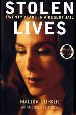 Stolen Lives-Malika Oufkir -Oprah's Book Club Jacket has Shelf-Wear Orig $24.00