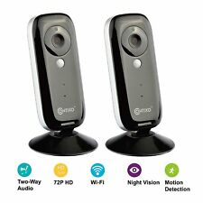 2-Pk Contixo E1 Baby Monitor Motion Sensor WiFi Camera Night Vision 2-Way Audio