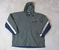 VINTAGE Nautica Sport Tech Jacket Adult 2LX XXL Green Sailing Coat Hooded 90s