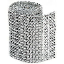 """""""Bling On A Roll 3mmX1yd-18 Rows, Silver"""""""